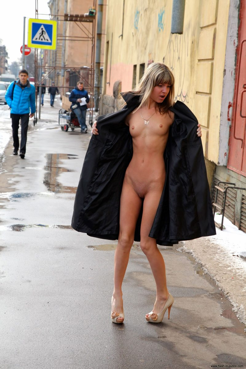 public nude winter