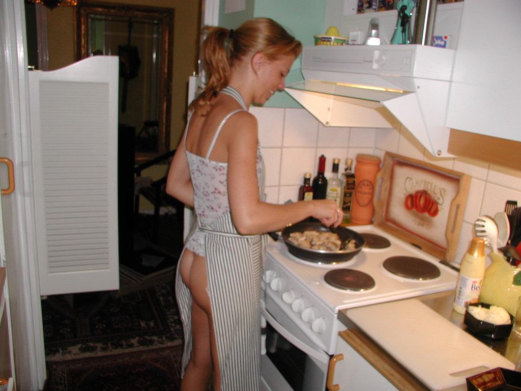 Яркие секс итории на кухне