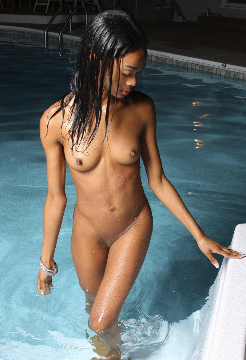 Hot sexy naked girls at the pool apologise