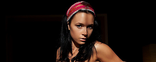 Gwen in headband