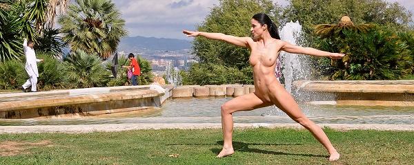 Gwen – Nude in Barcelona