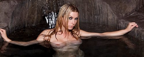 Heather Vandeven – Cave with pool