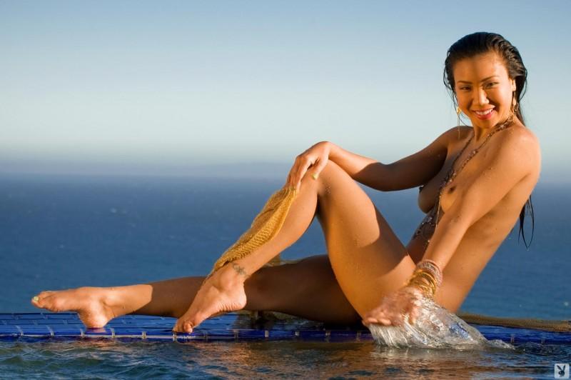 from Raylan hiromi oshima topless beach