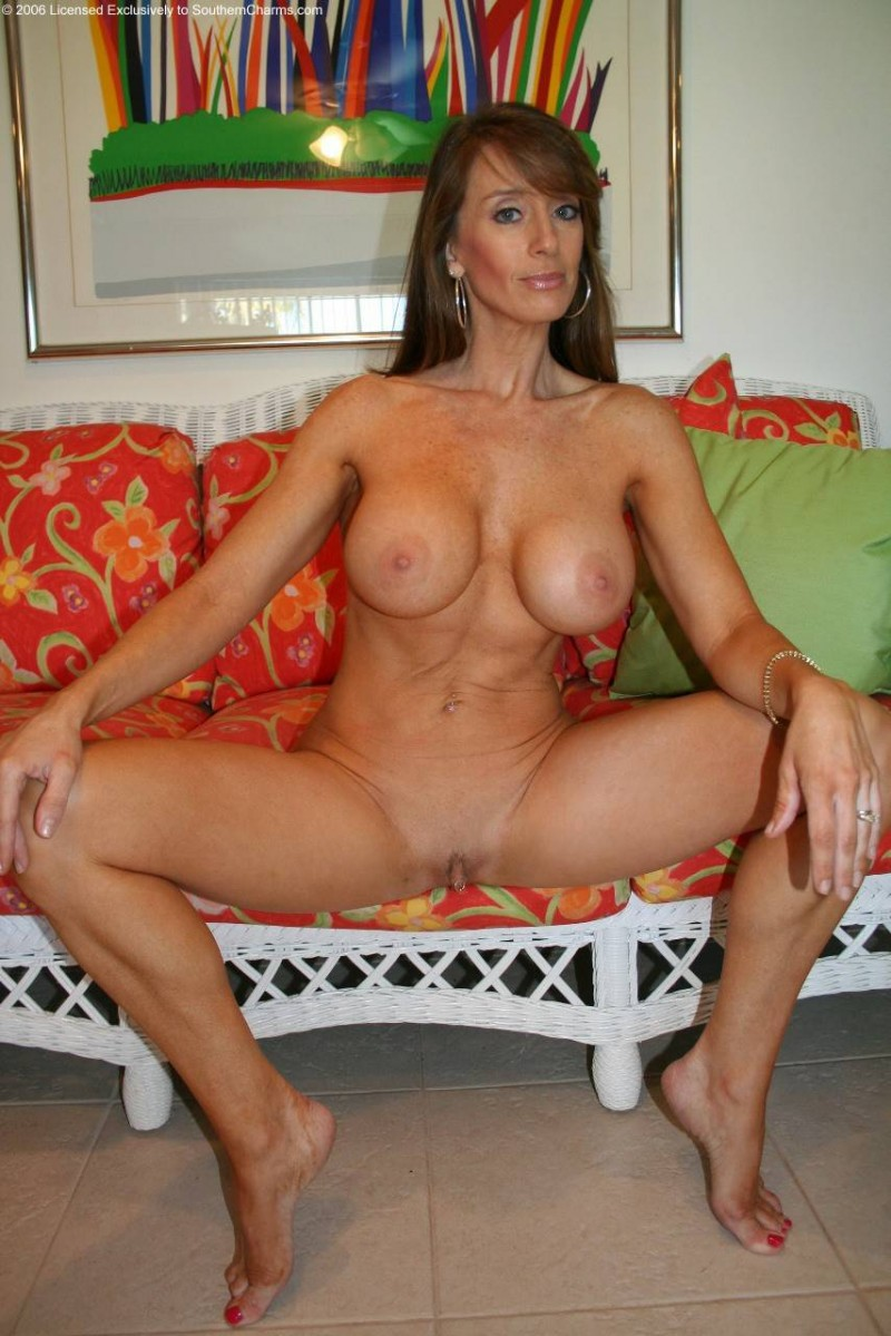 Mom sexy tanned milf rides young stud hard 10