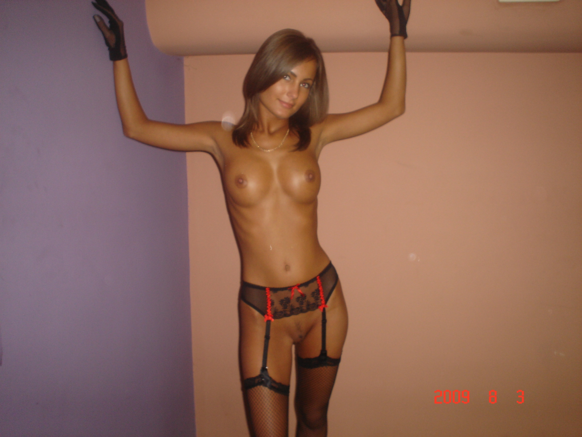 wife in stockings Hot amateur