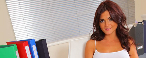 India Reynolds in white socks