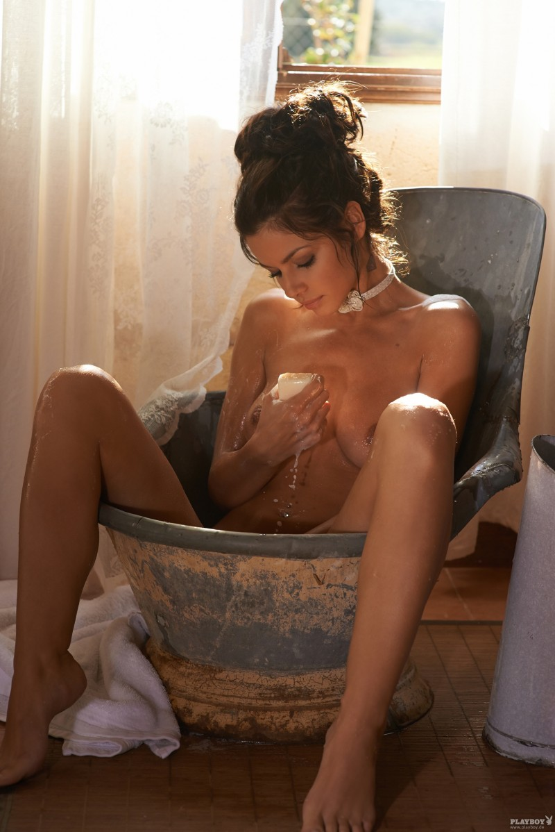 Iris Shala for Playboy