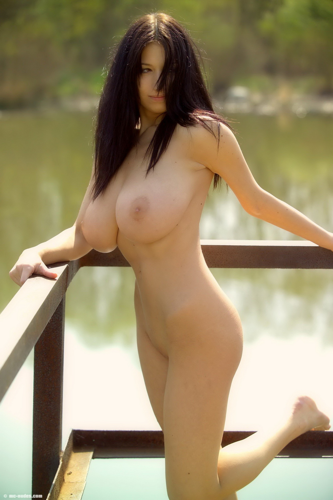 princessa-huge-tits-lake-brunette-naked-mcnudes-13