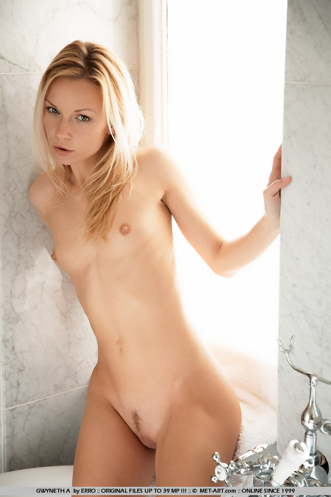 Naked young blond with titts interesting. You