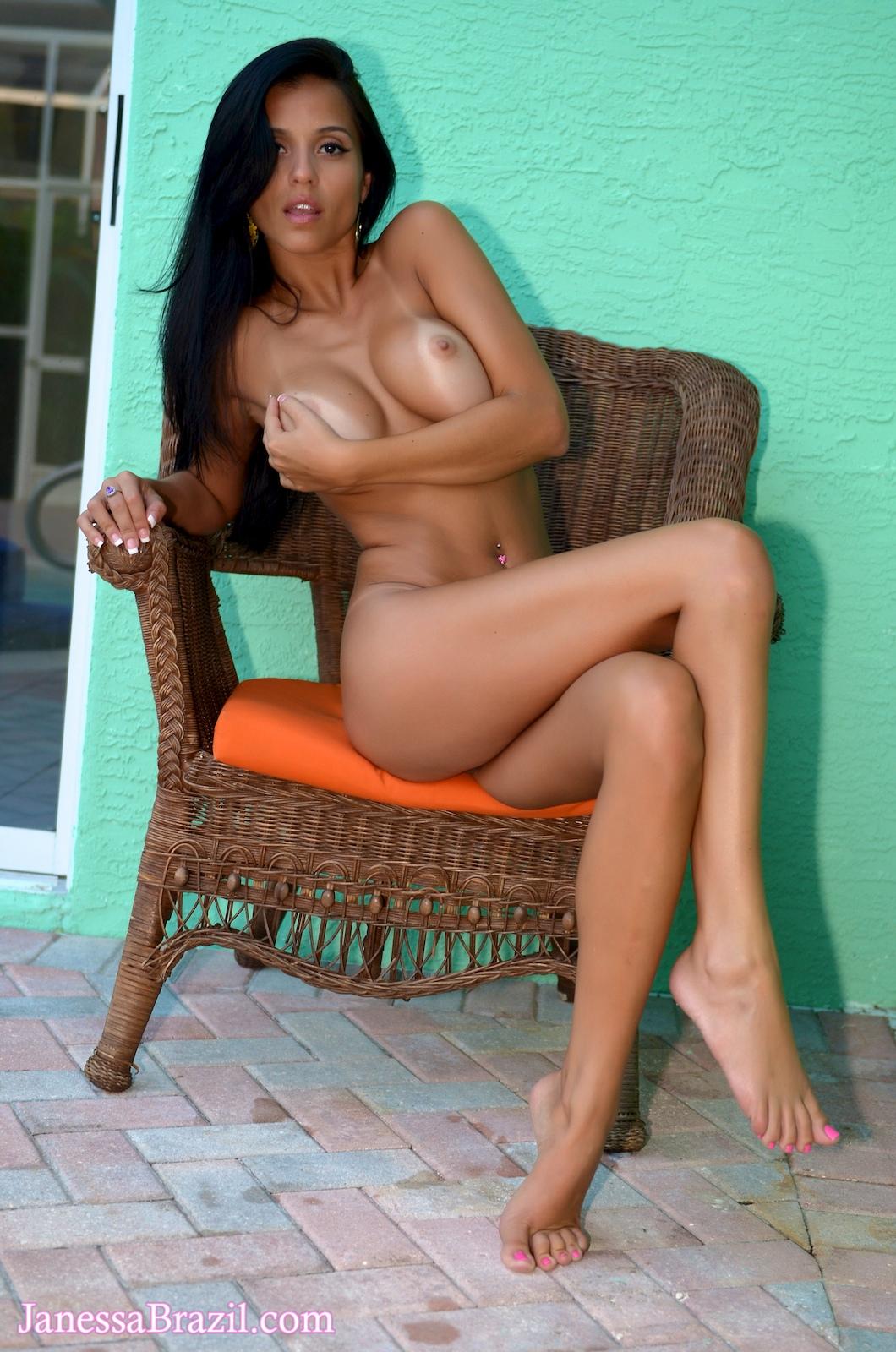 Janessa brazil posing nude