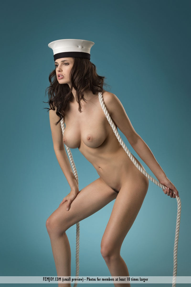 sexy sailor girl topless