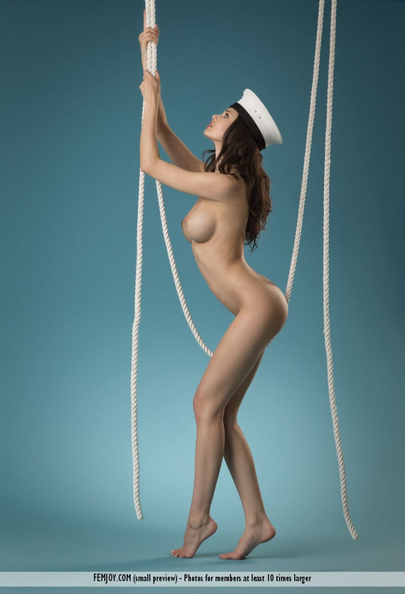 mexican girl nude in a sailor