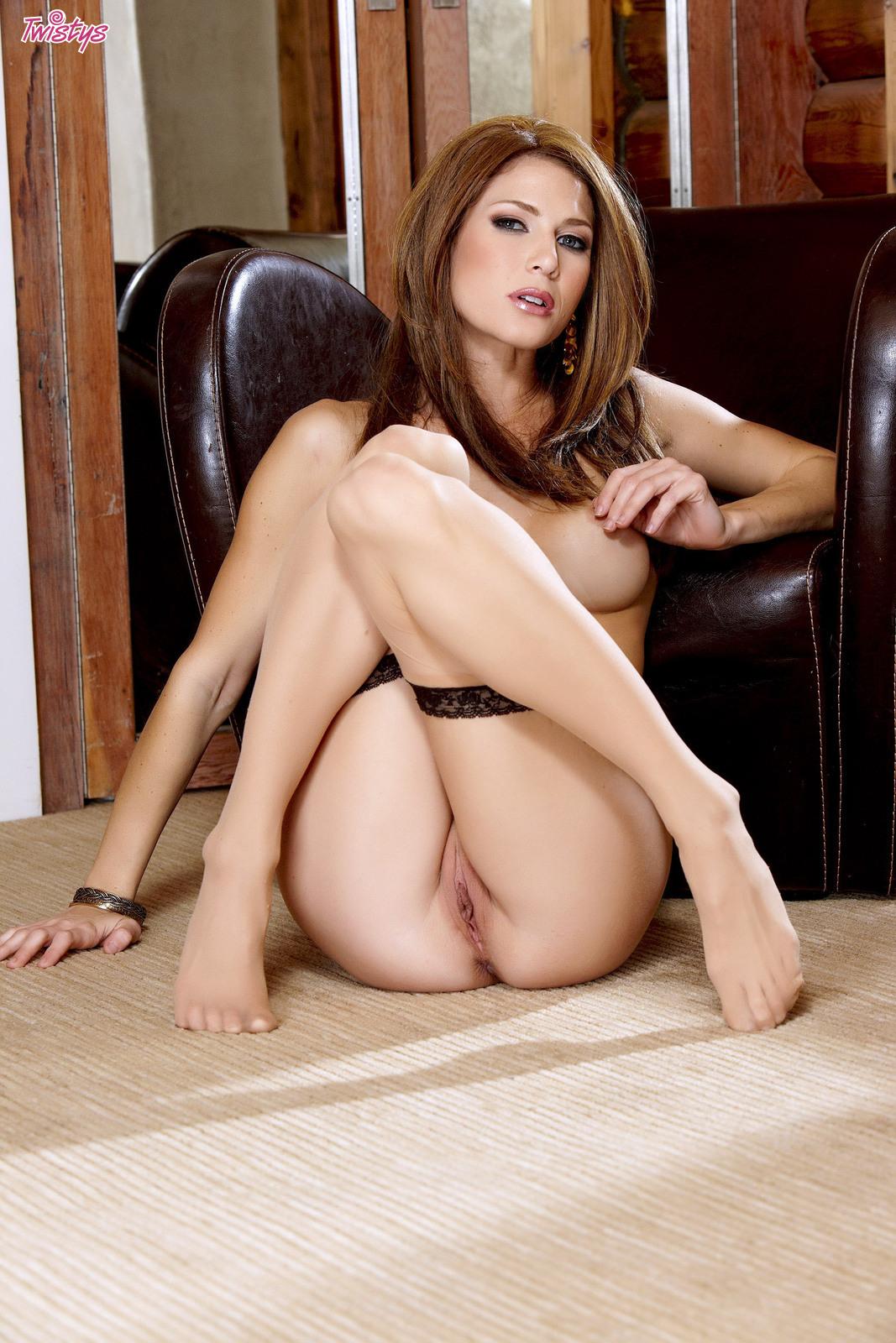 Pantyhose erotic handjob