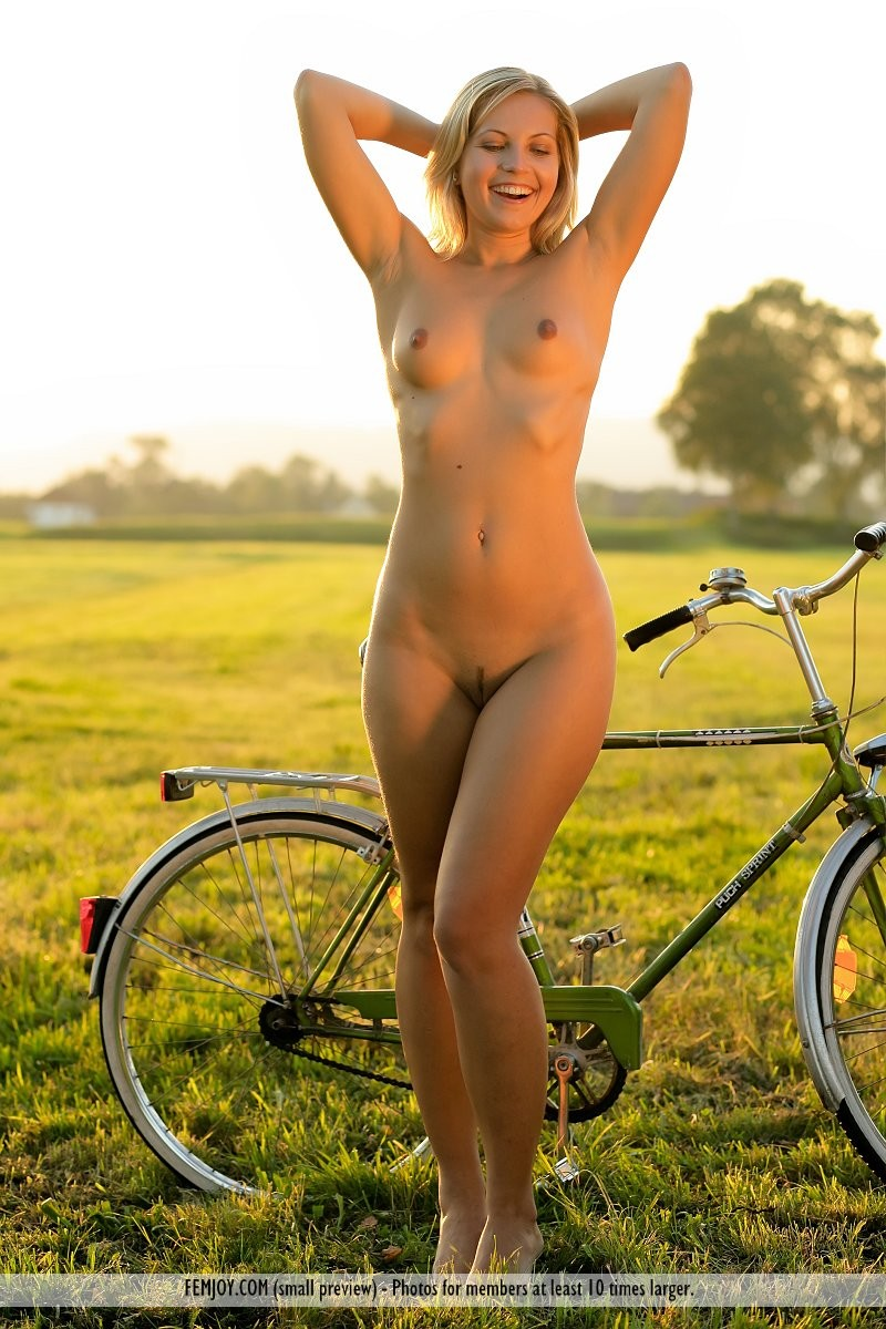 Really. All Girls nude on bikes spread
