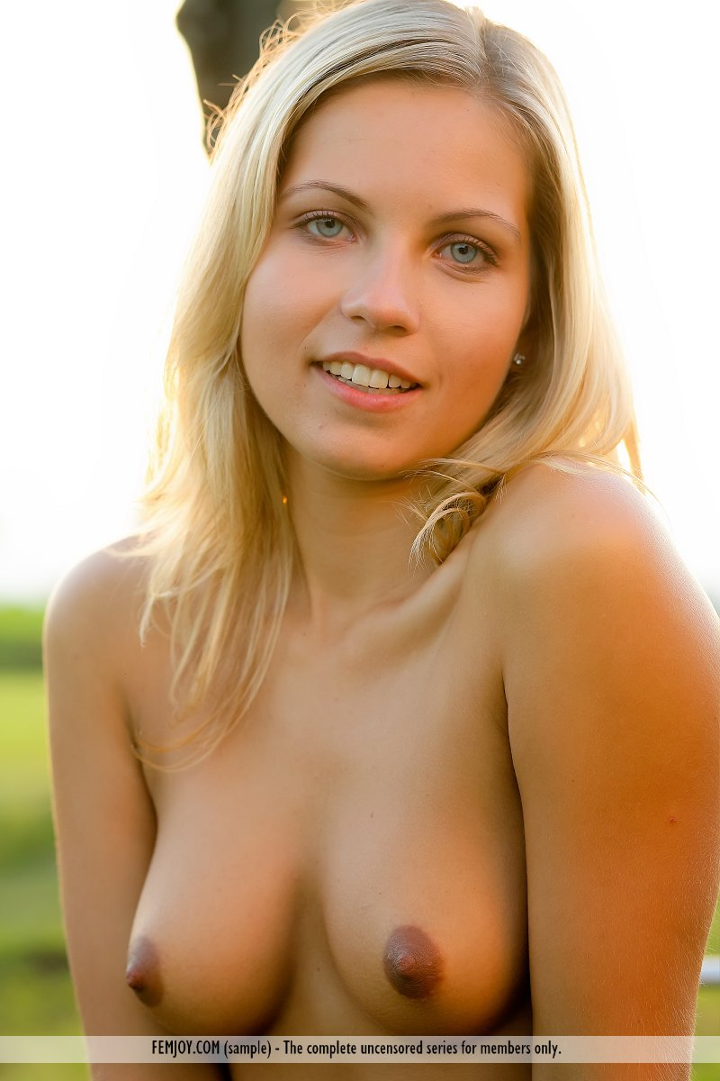 girl blonde biker naked