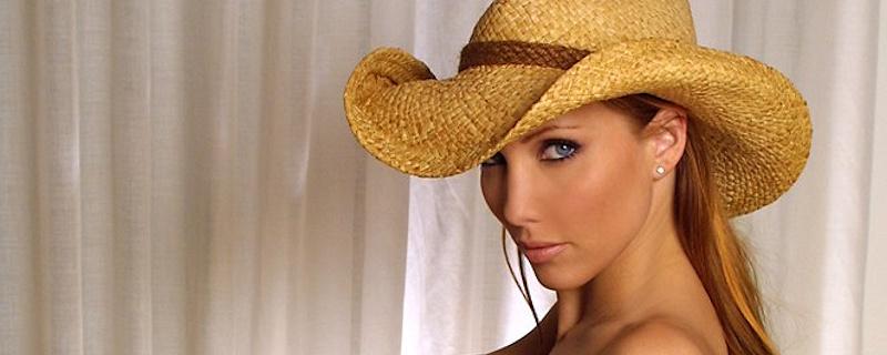 Jennifer Korbin in cowboy hat