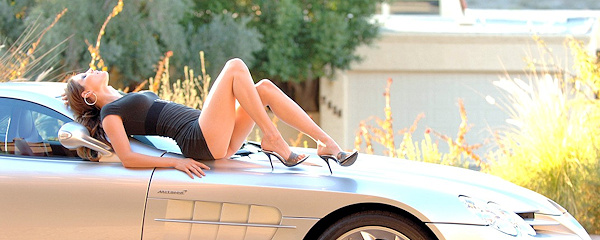 Jenny and Mercedes SLR