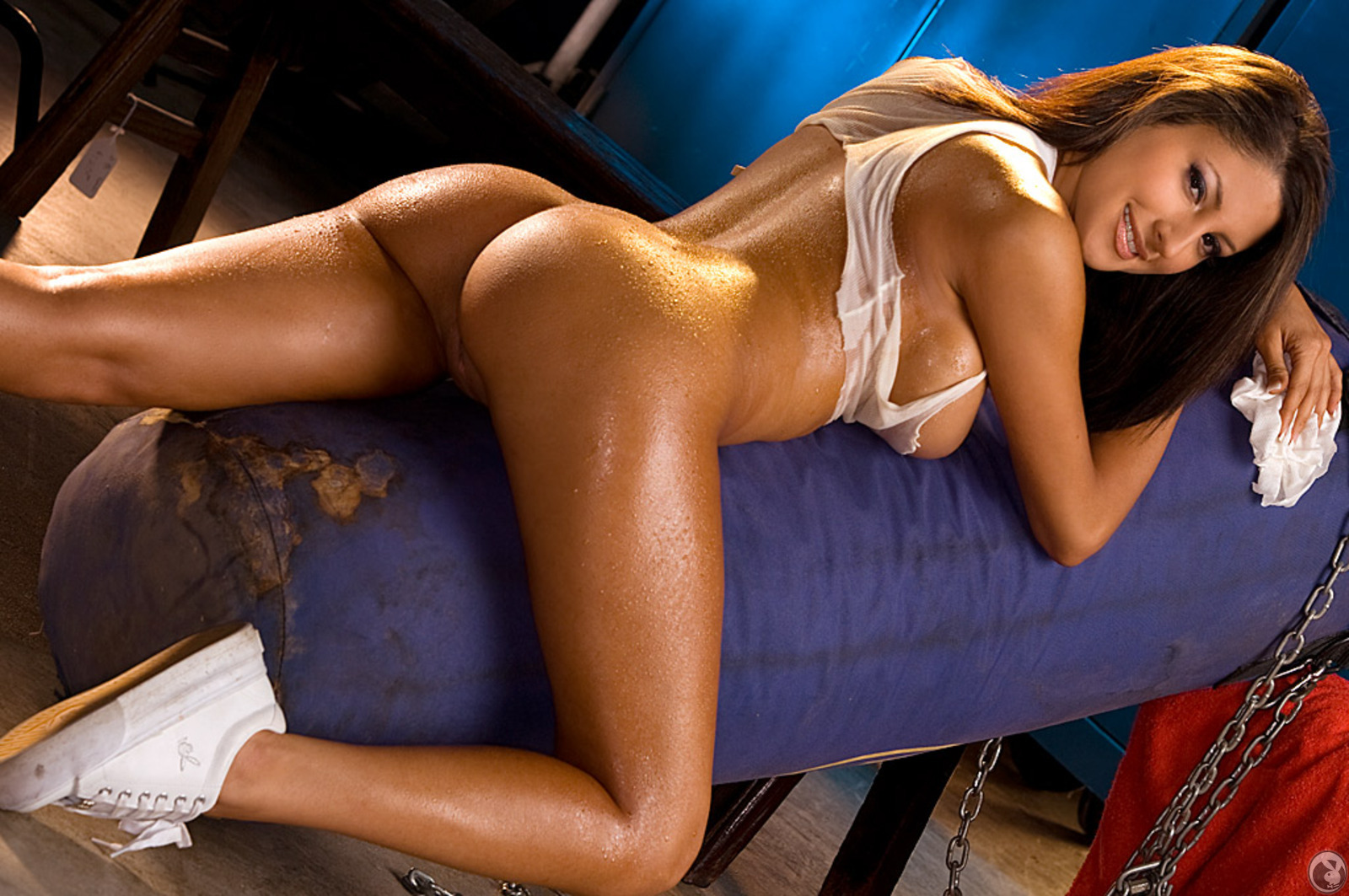 playboy locker room nude