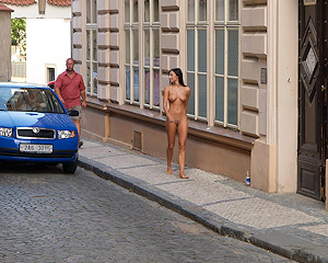 jirina-k-nude-on-the-street-of-prague