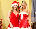 melissa-debling-&-jodie-gasson-xmas-stockings-onlytease