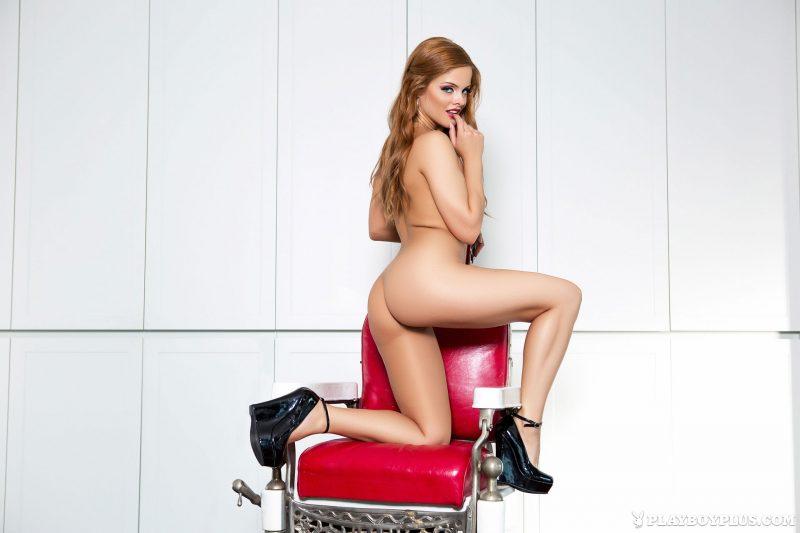josee-lanue-redhead-barbers-chair-playboy-11