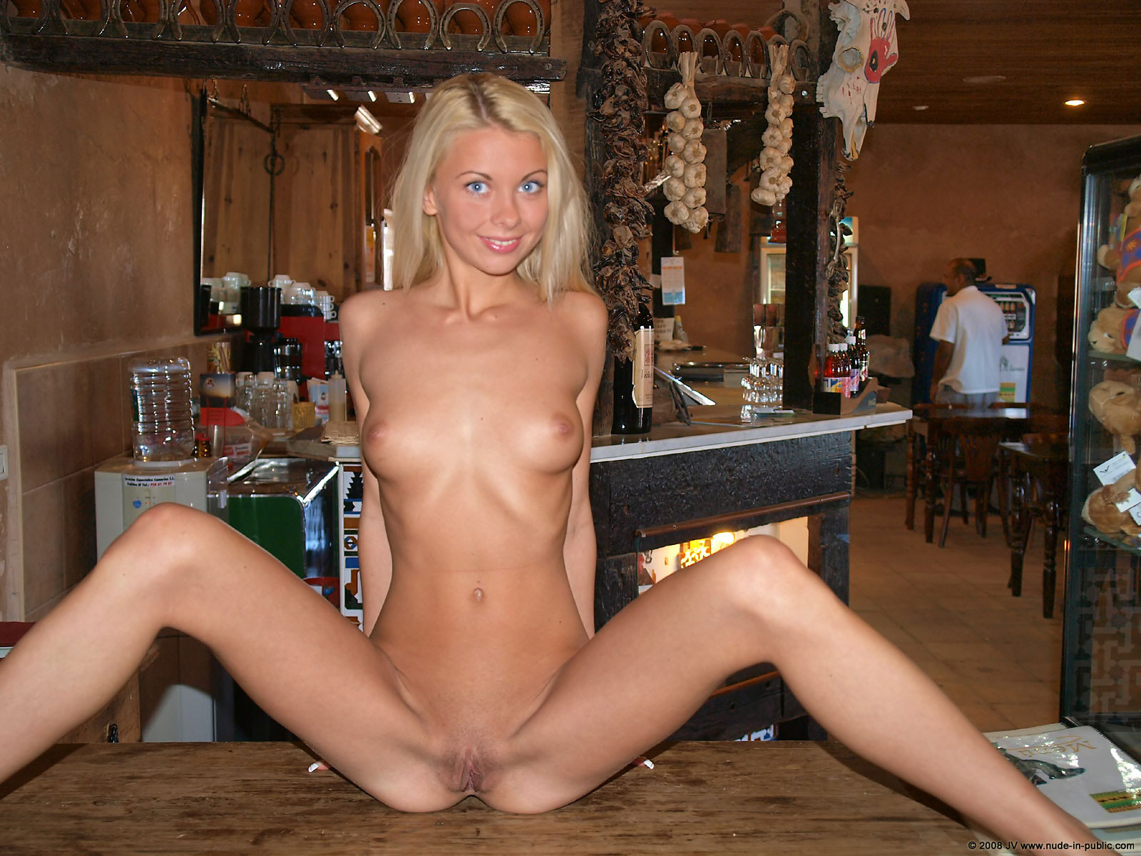 at bar girls Naked nude