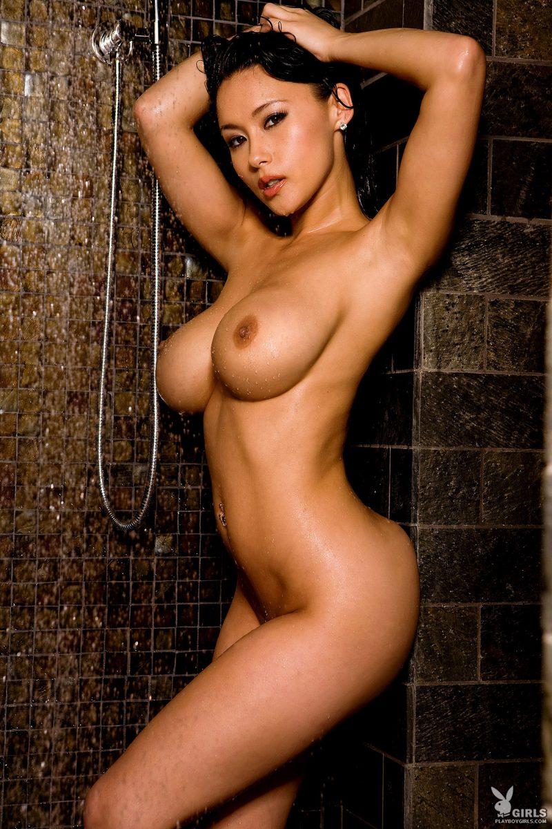 julri-waters-shower-naked-playboy-23