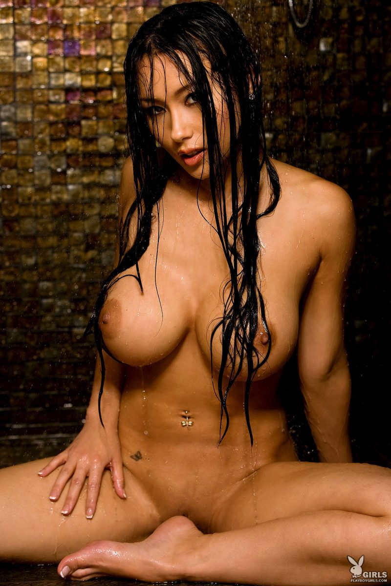 julri-waters-shower-naked-playboy-34