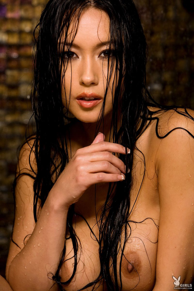 julri-waters-shower-naked-playboy-35