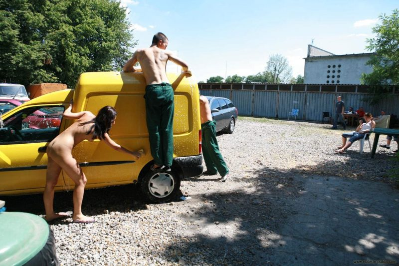 justyna-naked-car-wash-nude-in-public-45