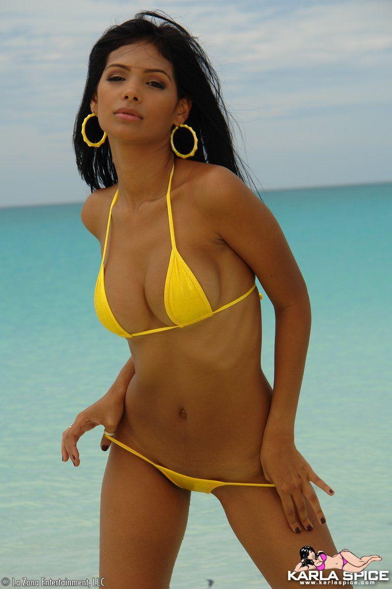 karla-spice-yellow-bikini-16