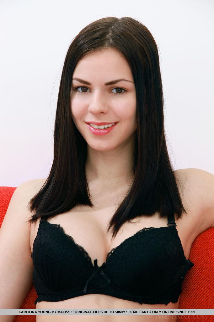 karolina-young-nude-stockings-red-sofa-metart-01