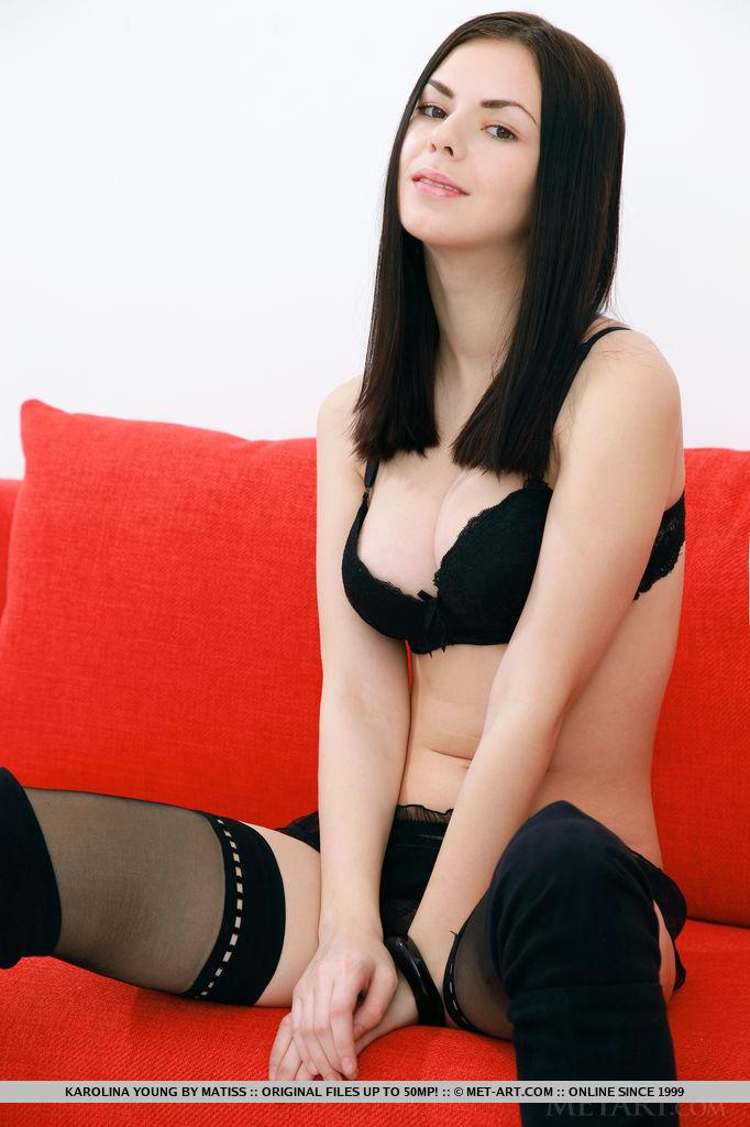 karolina-young-nude-stockings-red-sofa-metart-04