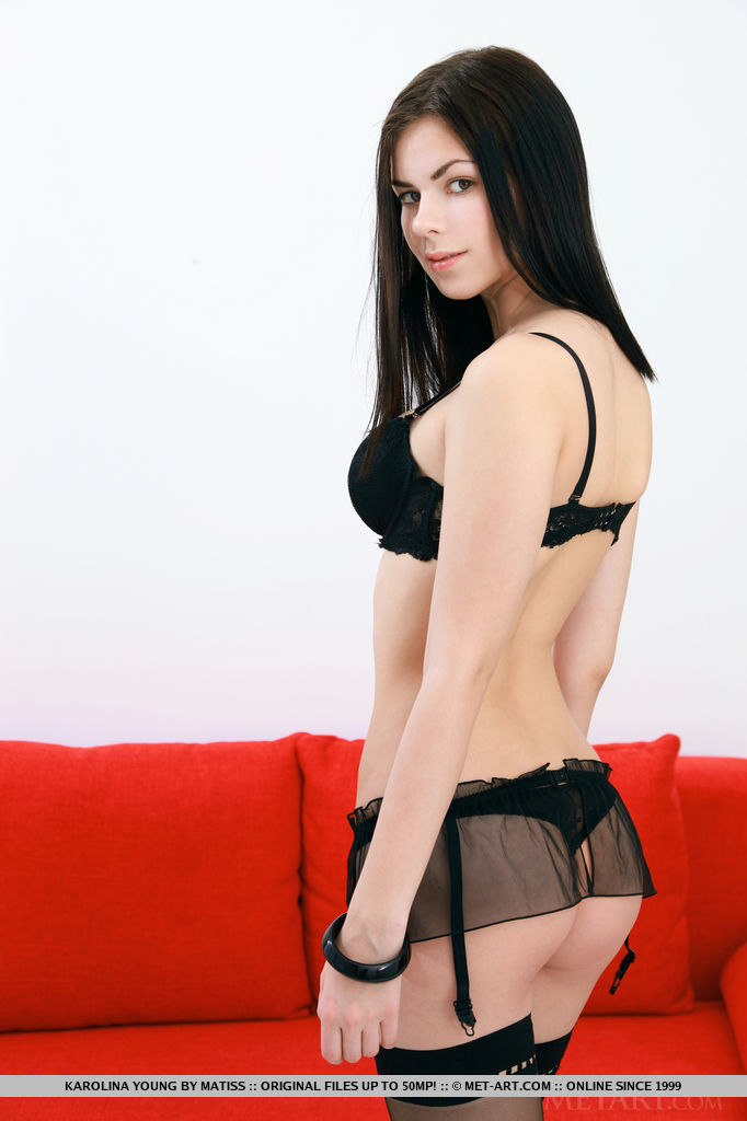 karolina-young-nude-stockings-red-sofa-metart-08