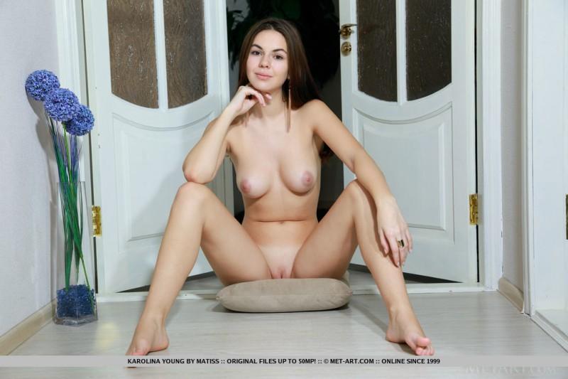 karolina-young-red-bodysuit-nude-metart-13