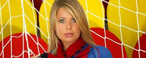 Katerina Hovorkova – FC Barcelona fan