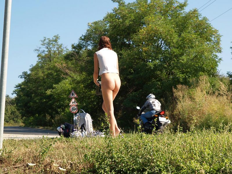 katerina-nude-on-road-hitch-hiking-09