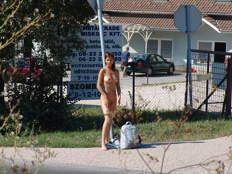 katerina-nude-on-road-hitch-hiking-13
