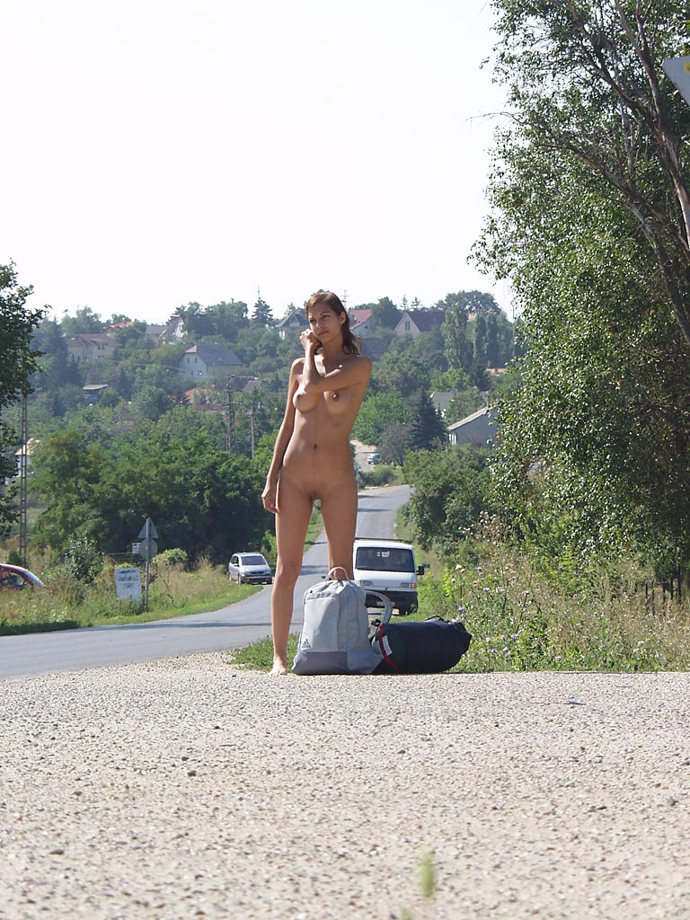 katerina-nude-on-road-hitch-hiking-20