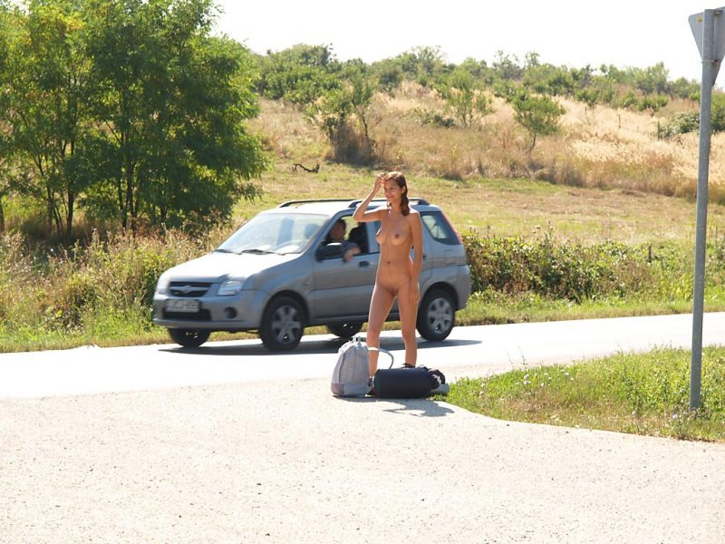 katerina-nude-on-road-hitch-hiking-22