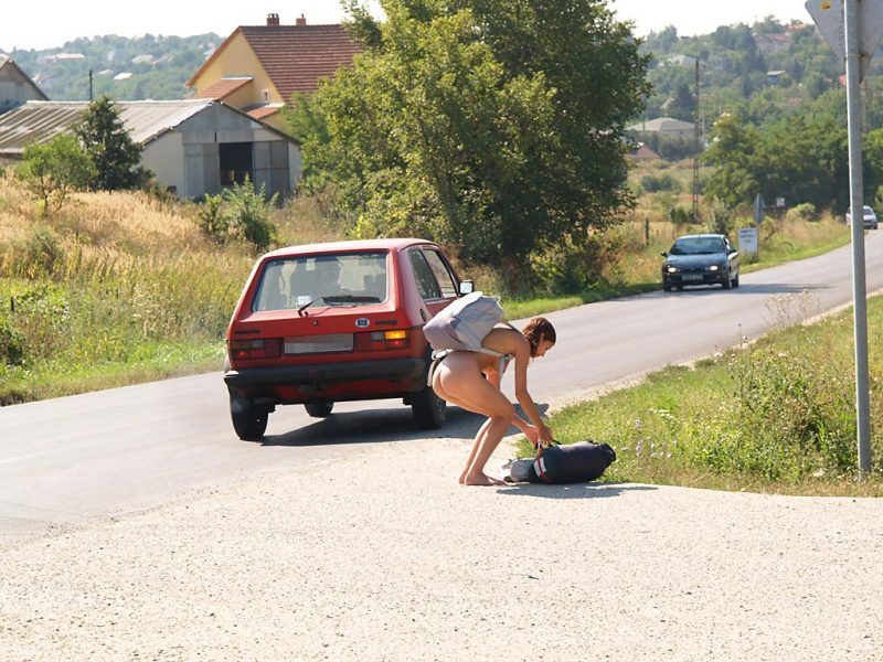katerina-nude-on-road-hitch-hiking-24