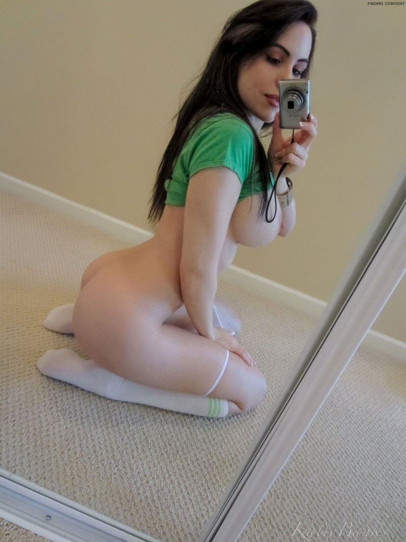 Not Katie banks self shots nude