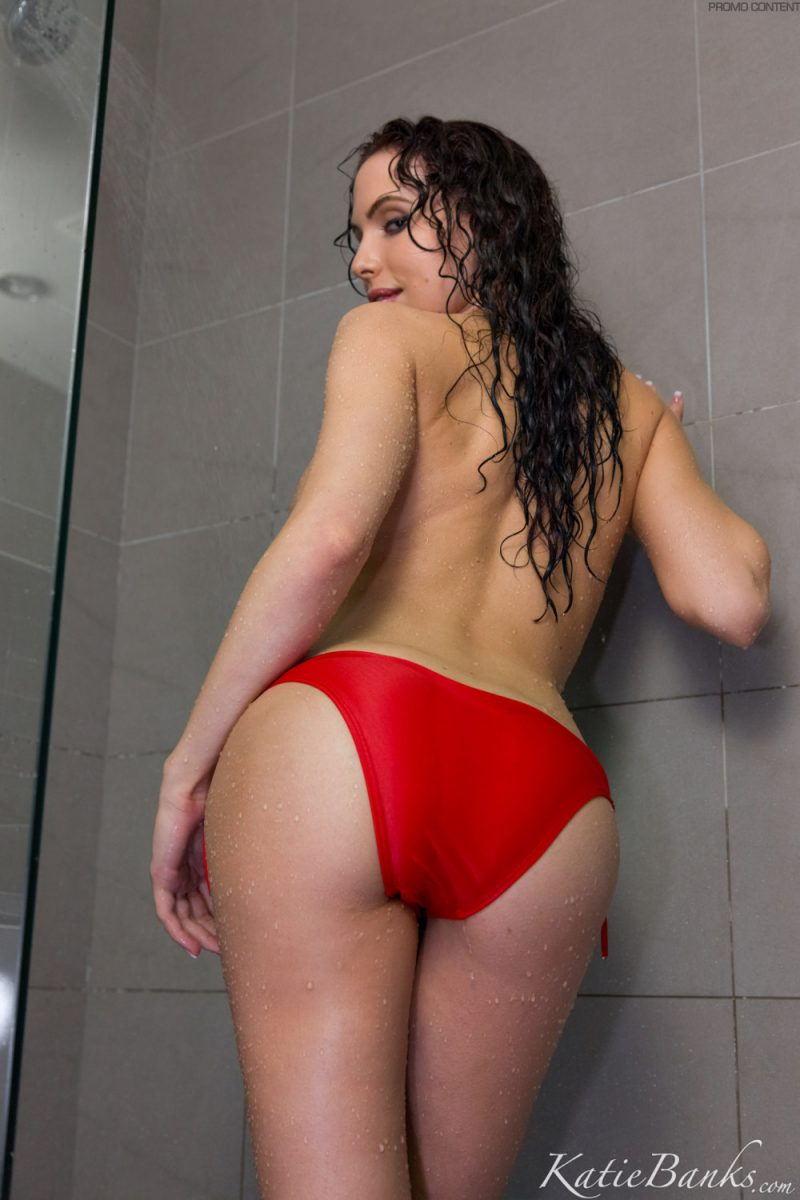 katie-banks-shower-red-bikini-nude-11