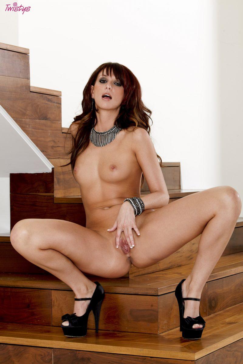 katie-jordan-nude-stairs-high-heels-twistys-13
