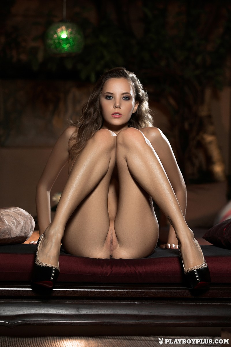 katya-clover-nude-shorts-high-heels-playboy-13