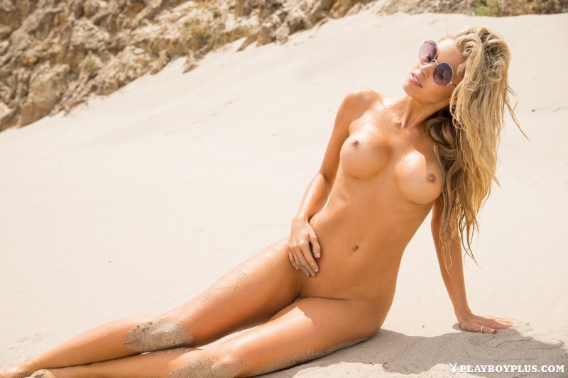 kayla-rae-reid-blonde-naked-beach-playboy-12