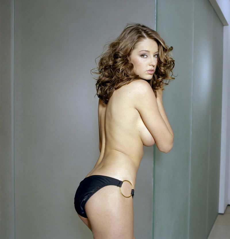 keeley hazell topless white skirt