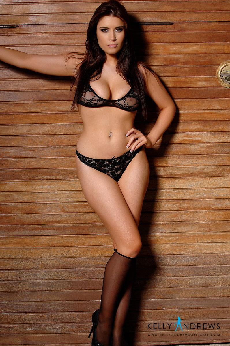 kelly-andrews-black-lingerie-topless-01