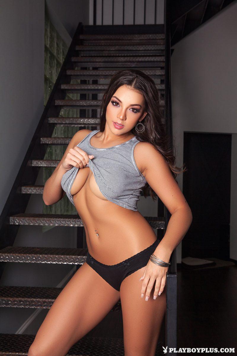 kelsi-shay-nude-stairs-boobs-playboy-05