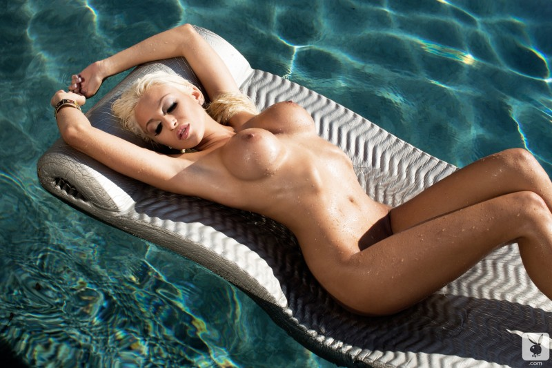khloe-terae-nude-pool-playboy-20